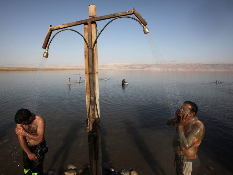 PALESTINIAN-ISRAEL-DEAD SEA-LEISURE