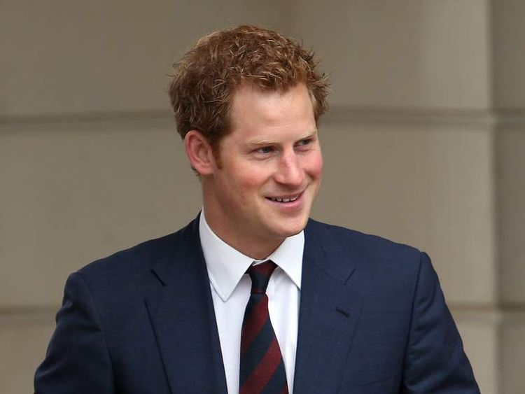 Prince Harry at Tedworth House