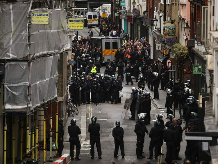 Protests Are Held In Advance Of The G8 Summit Taking Place In Northern Ireland Next Week