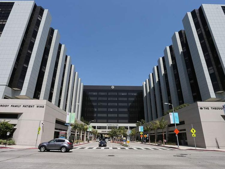 Cedars-Sinai Hospital in Los Angeles