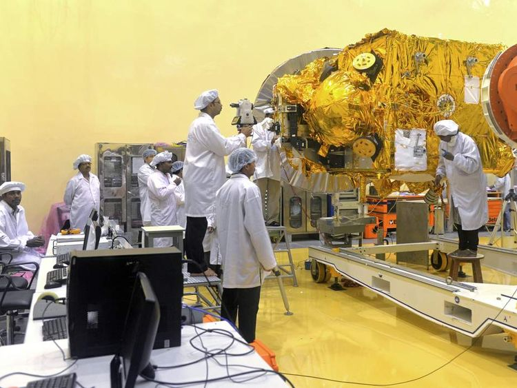 India Mars orbiter
