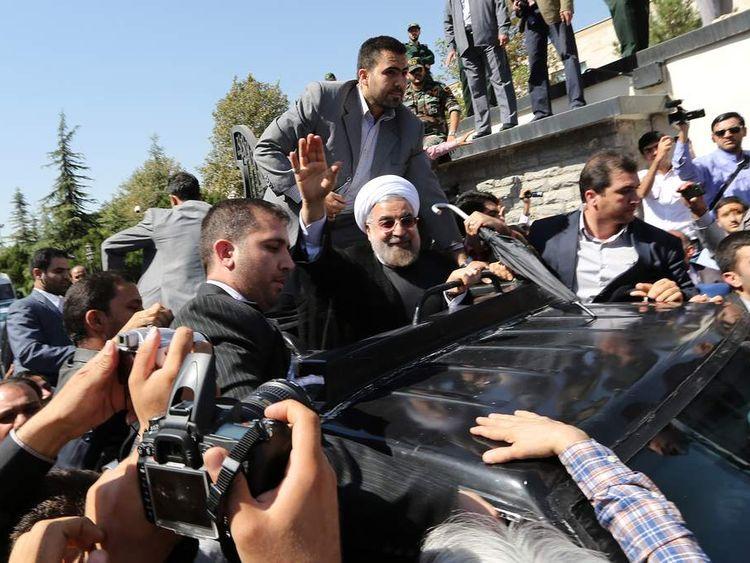 IRAN-POLITICS-GOVERNMENT-ROUHANI