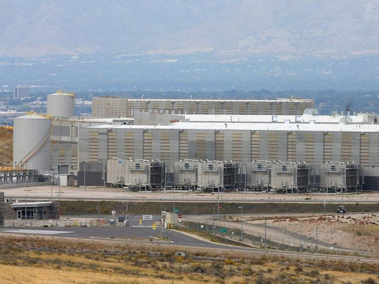 NSA Utah data centre near Bluffdale
