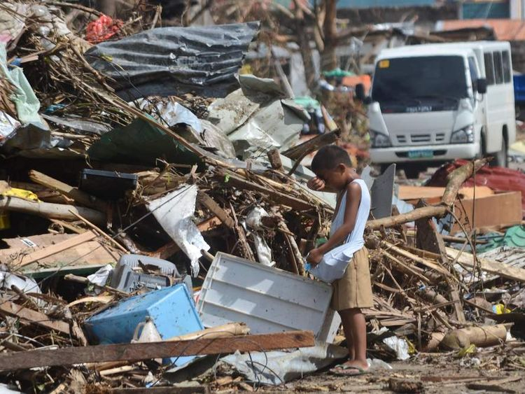 Typhoon Haiyan Devastation