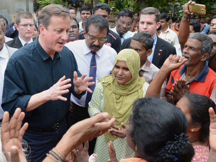SRI LANKA-BRITAIN-POLITICS-CHOGM