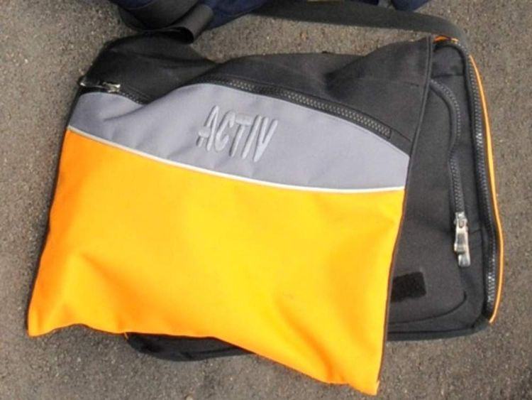 Nahid Almanea's bag