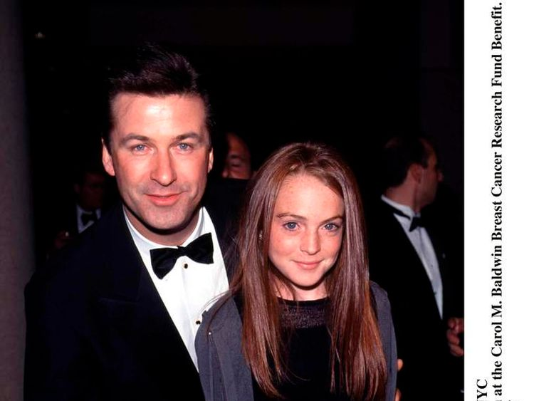 Alec Baldwin And Actress Lindsay Lohan