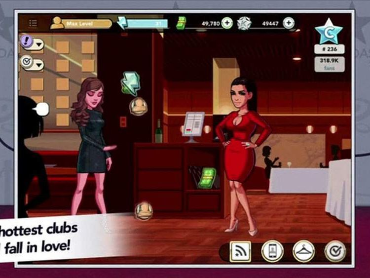 Kim Kardashian mobile game