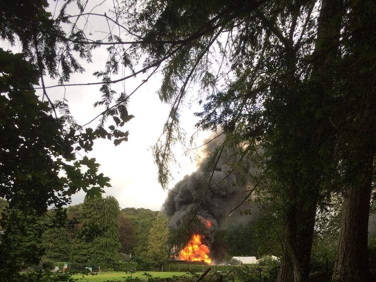 Two die in wedding fireworks blast. Pic: Anthony Middleton