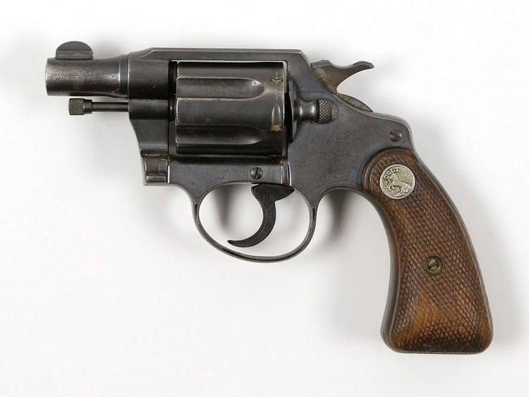 Bonnie and Clyde's snub nosed .38 special gun