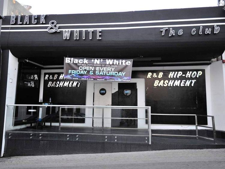 The Cypriot nightclub