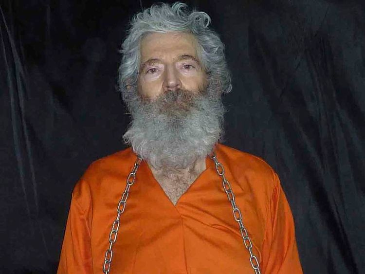 Retired FBI agent Robert Levinson is pictured in this handout photo
