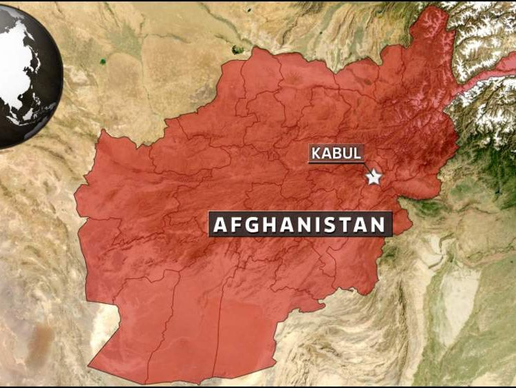 Map Of Kabul In Afghanistan