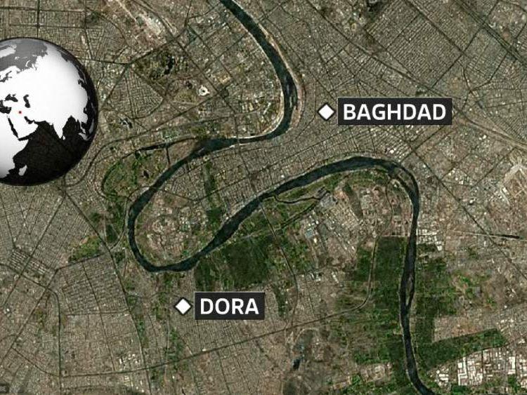 Iraq Christmas bomb attacks