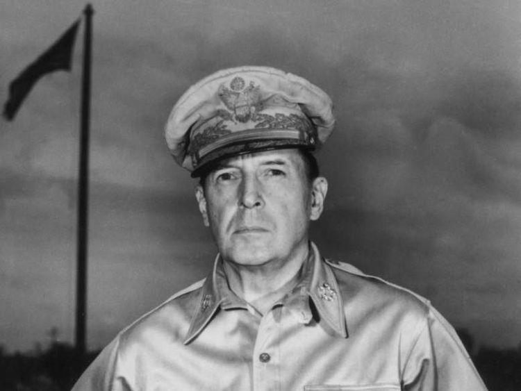 General Douglas MacArthur.