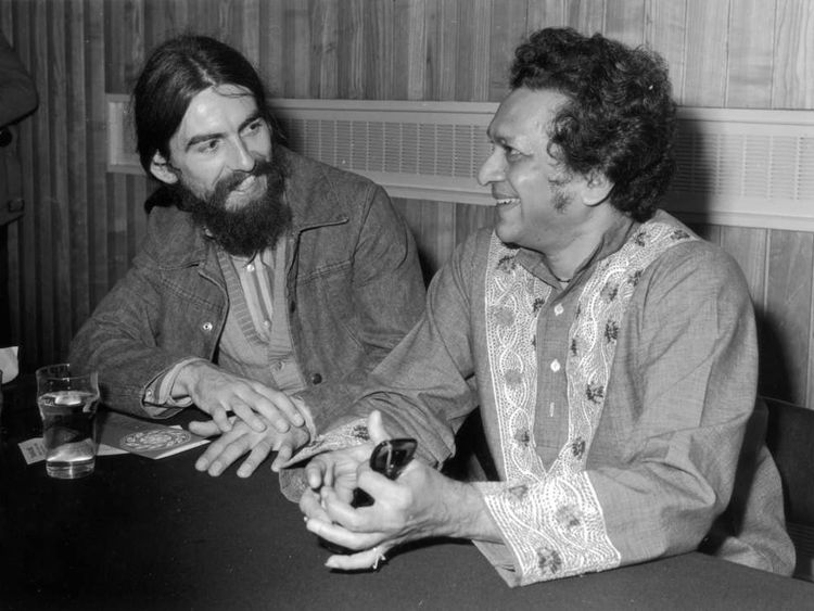 George Harrison And Ravi Shankar