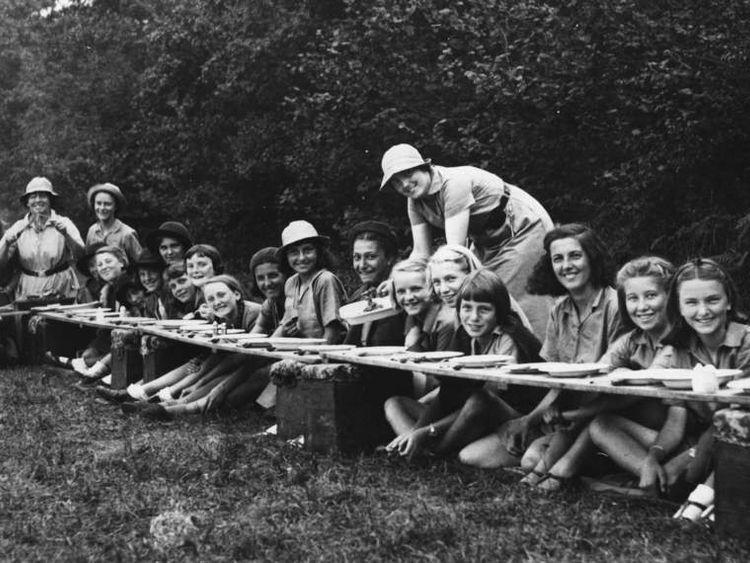 Girl Guides Tea