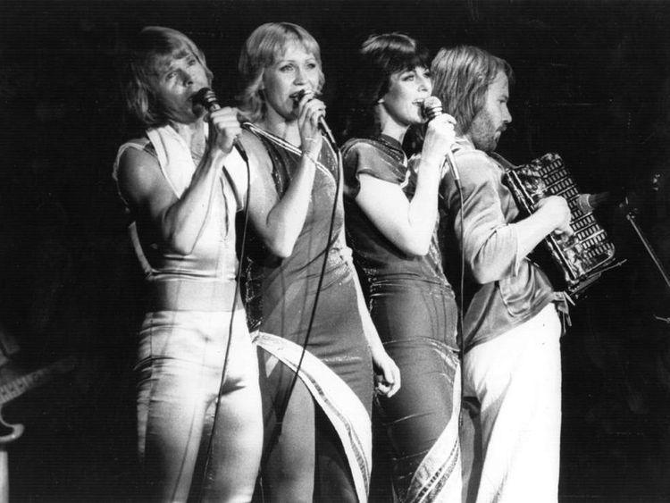 Abba in concert in November 1979