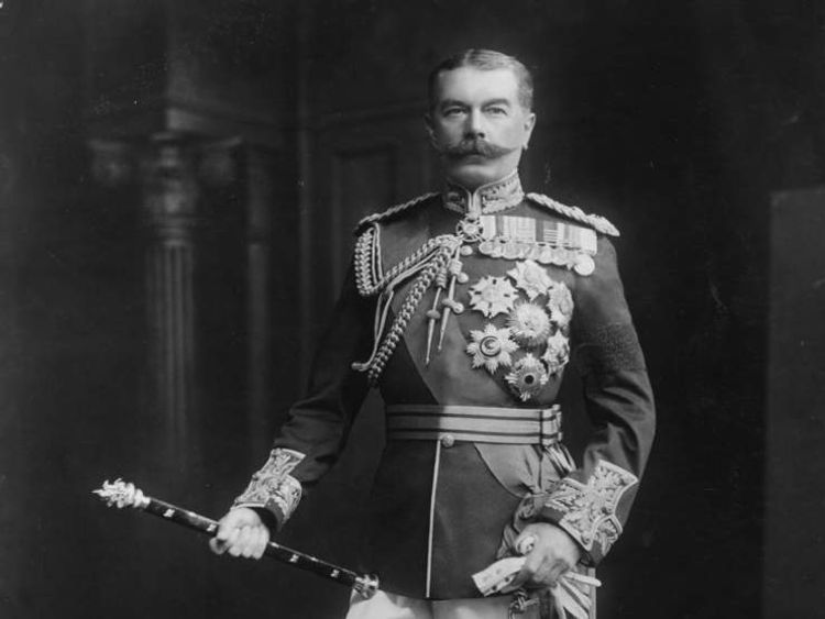 Lord Kitchener, Secretary of State For War in 1914