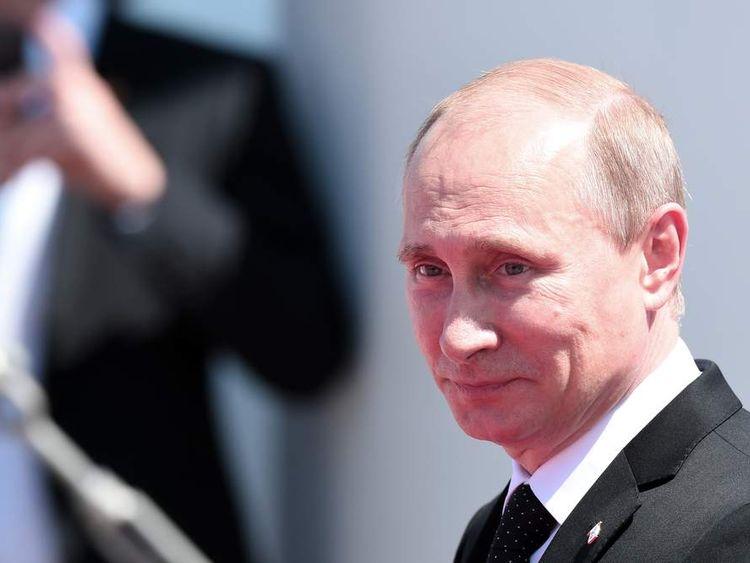 Vladimir Putin in France