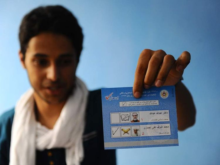 AFGHANISTAN-ELECTION