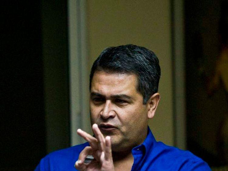 HONDURAS-ELECTION-JUAN-HERNANDEZ