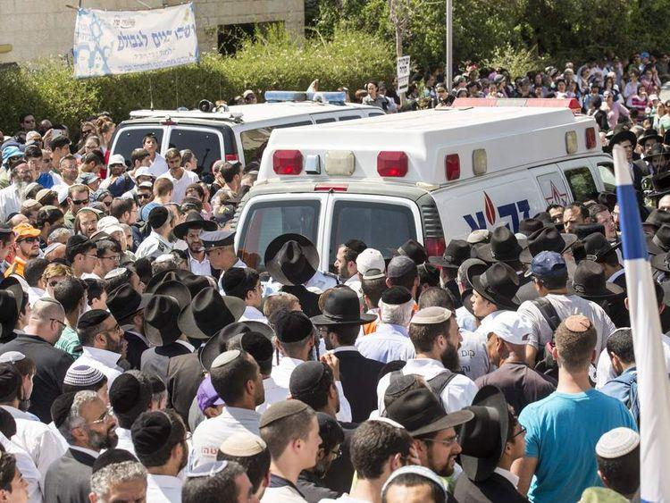 Three Murdered Teenagers Buried In Israel