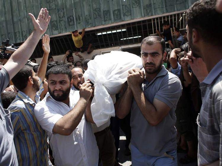 Israeli-Palestinian Gaza conflict