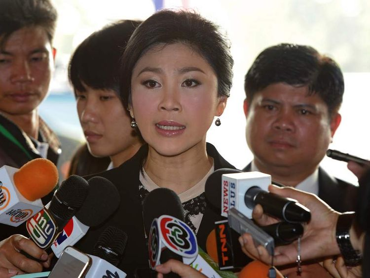 Thailand Protests Over Prime Minister Yingluck Shinawatra
