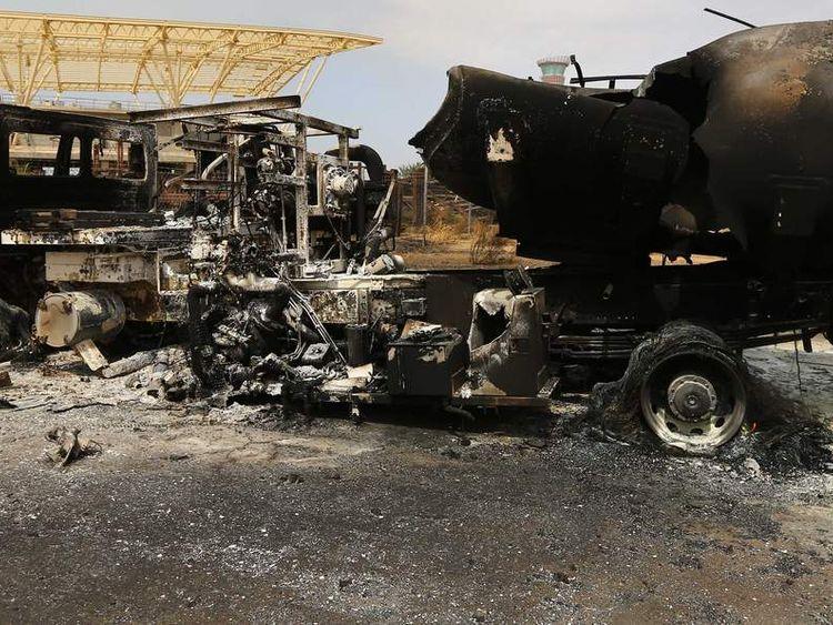 LIBYA-UNREST-AIRPORT