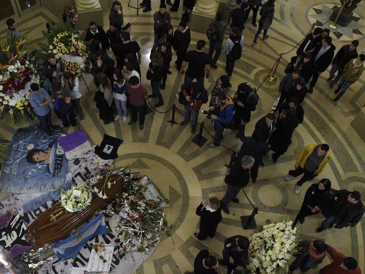 ARGENTINA-CERATI-DEATH-FUNERAL