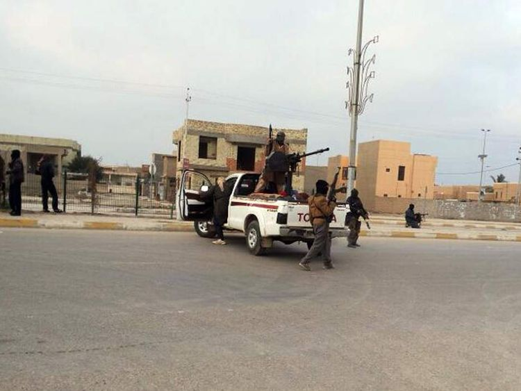 IRAQ-UNREST-RAMADI