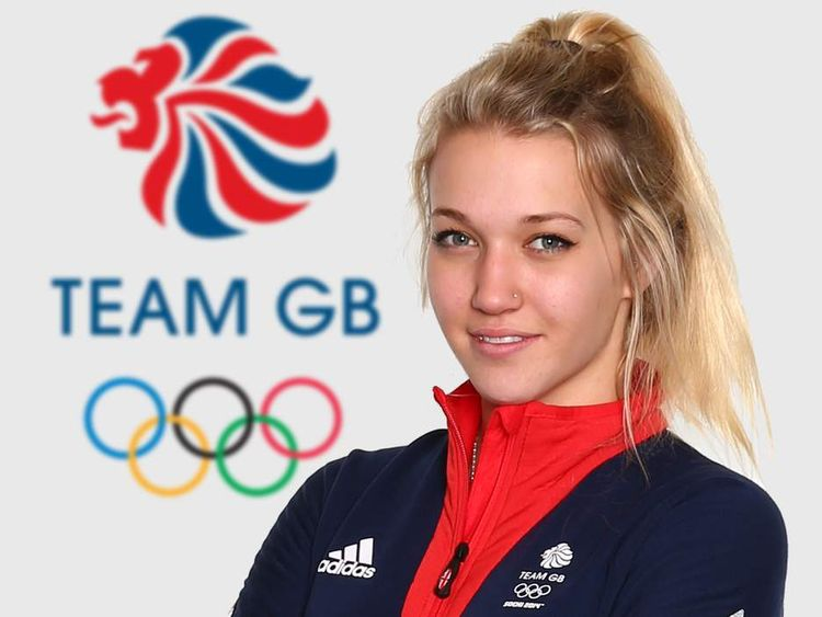 Official image of Sochi Olympics skier Rowan Cheshire