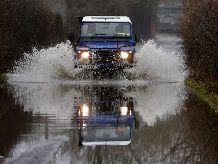 Military To Provide Support For Flooded Somerset Levels