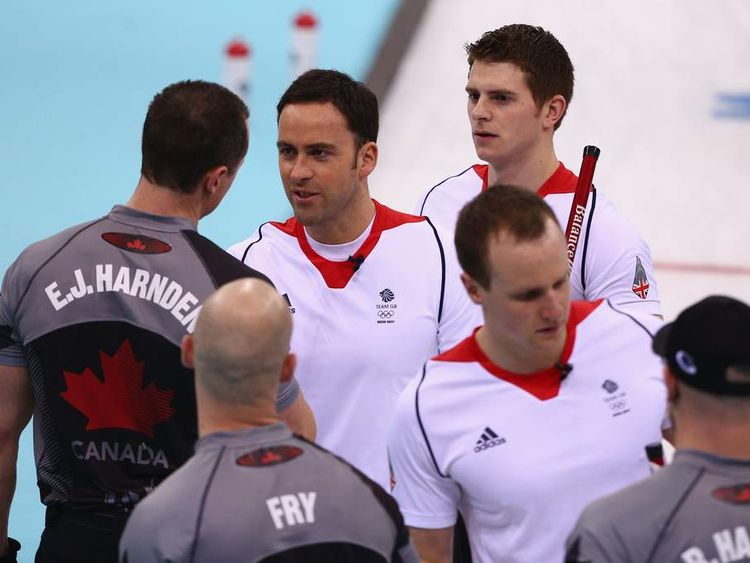 Team GB curlers miss out on gold in Sochi.