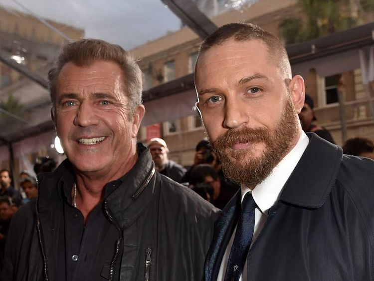 Mel Gibson and Tom Hardy