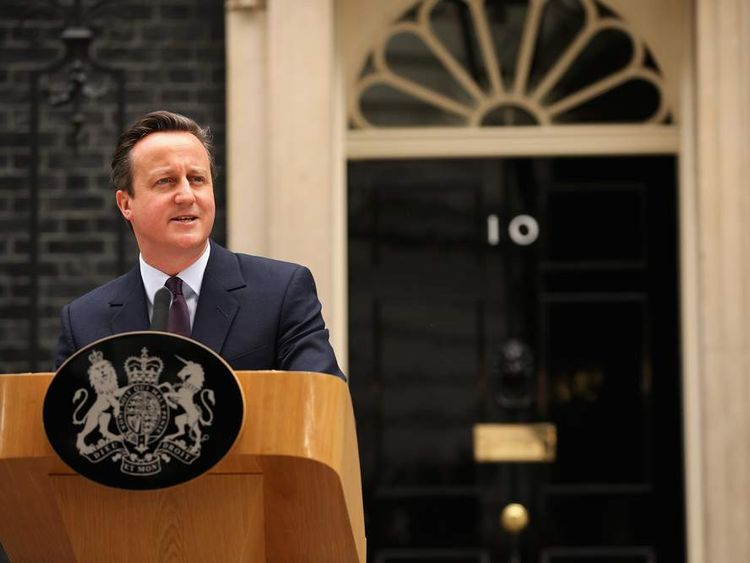 David Cameron Confirmed As Prime Minister As Conservatives Win UK General Election