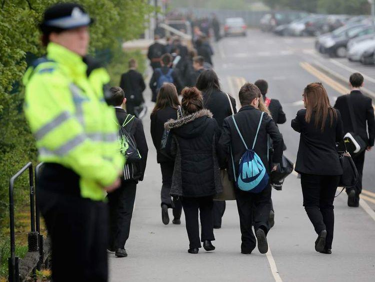 Teacher stabbed in Leeds