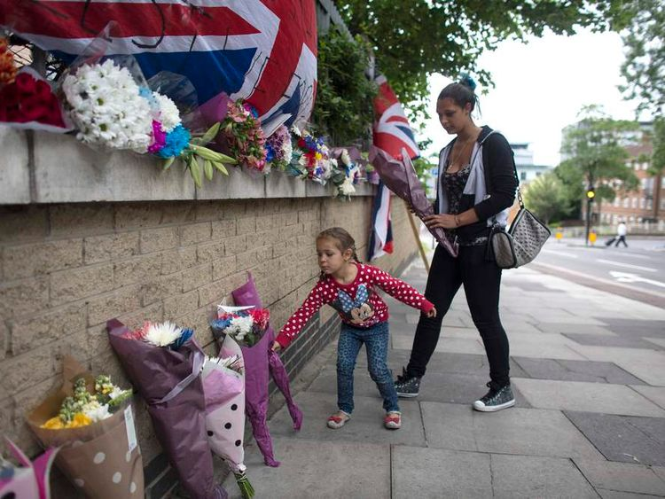 Tributes are paid to Lee Rigby a year on from his death.