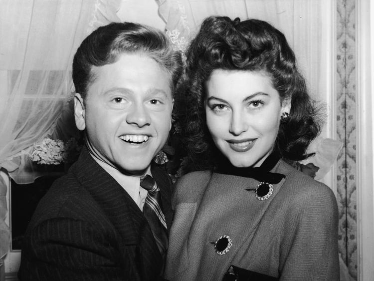 Mickey Rooney & Ava Gardner