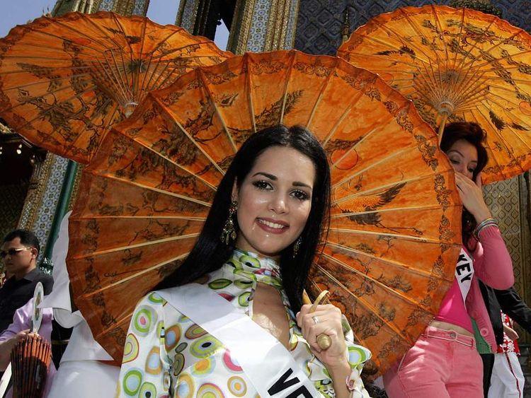 Former Miss Venezuela Monica Spear