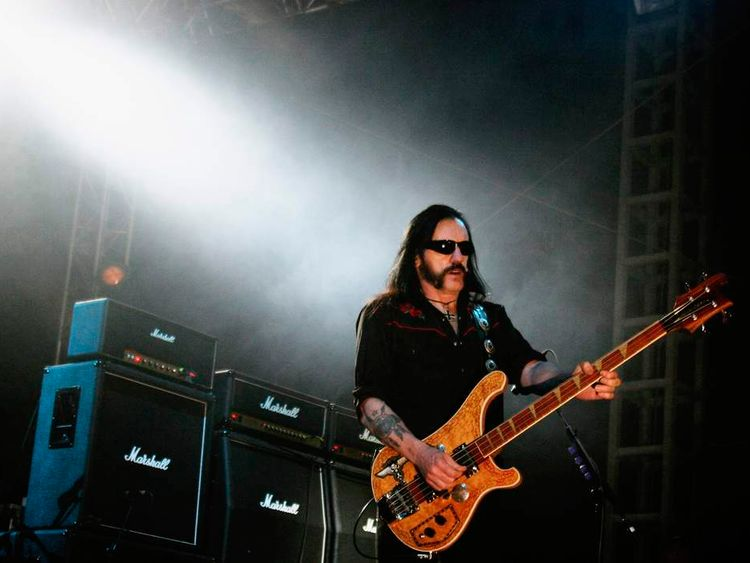 Lemmy out of Motorhead
