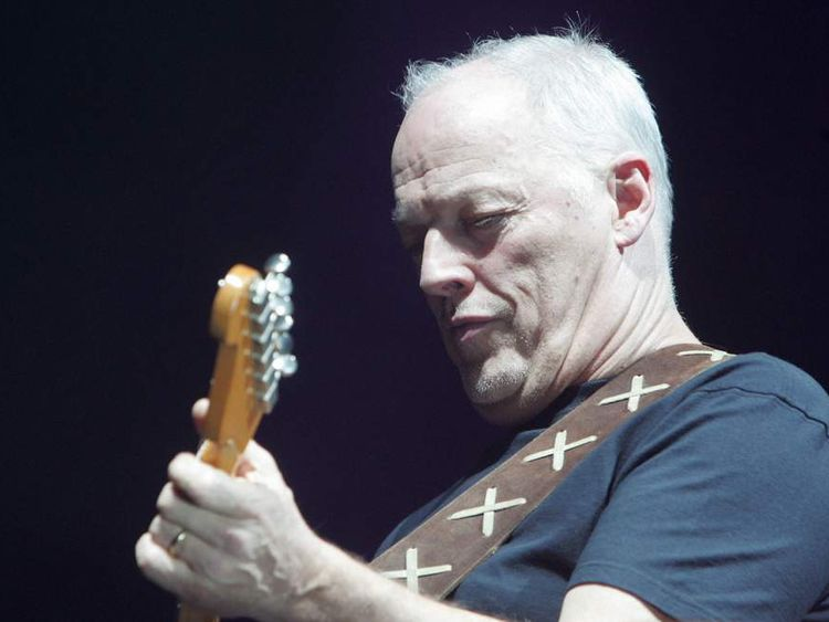 Former Pink Floyd British leader David G