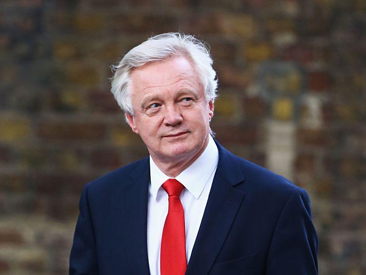 David Davis: Secretary of State for Exiting the European Union
