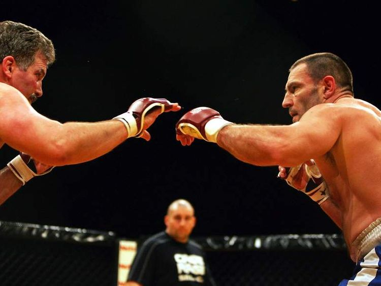 Cage Fighting Held At Wembley Arena
