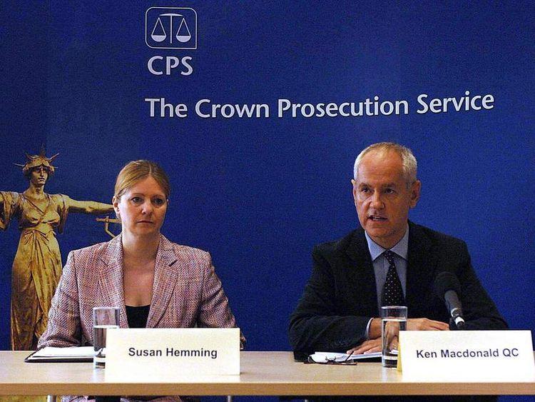 Former director of public prosecutions Ken Macdonald