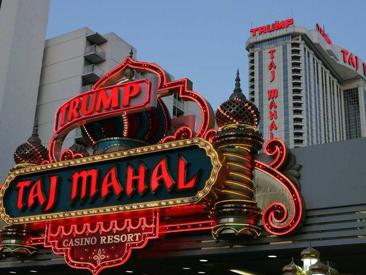 The Trump Taj Mahal Hotel and Casino in