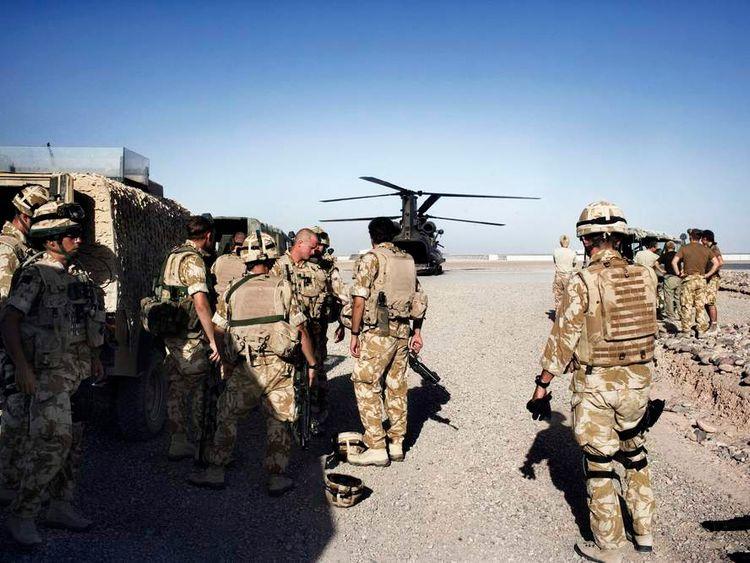 British Army medics in Afghanistan