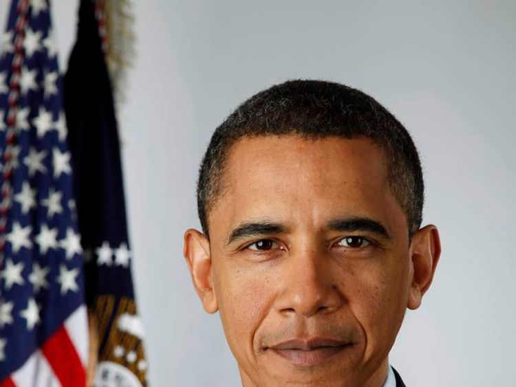 President-elect Barack Obama Poses For Official Portrait