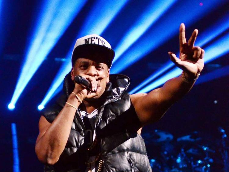 Rapper Jay-Z Plays Concert In Brooklyn To Open New Stadium